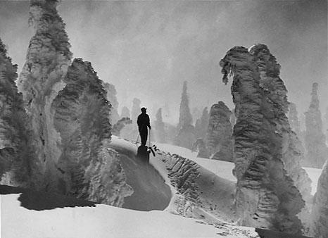 Plate 2, Skier at Mount Hood Photo