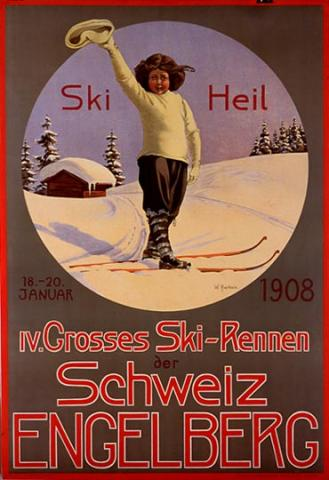 Engelberg, Switzerland Poster