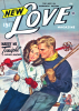 The cover of New Love Magazine (February 1948) celebrated the intimacy of riding uphill on the relatively new T-bar, famously known as a He-and-She Stick.