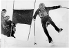 Jean-Claude Killy winning the classic Lauberhorn downhill at Wengen