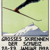 Gstaad, Switzerland Poster