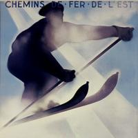 Winter Sports in the Vosges Poster