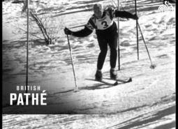 Embedded thumbnail for Alpine racing and teaching in France (1959)