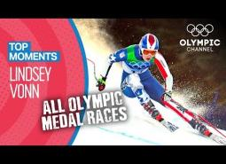 Embedded thumbnail for Vonn: Olympic medal runs