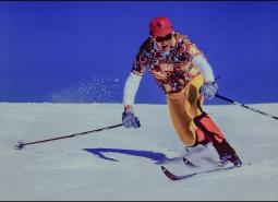 Embedded thumbnail for Telemarking on skinny skis