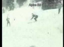 Embedded thumbnail for 1958 Alpine World Championships, with Toni Sailer and Lucille Wheeler