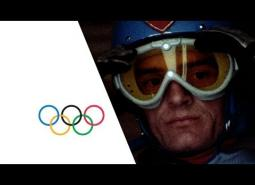 Embedded thumbnail for Killy's three gold medal runs at Grenoble, 1968