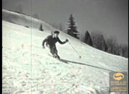 Embedded thumbnail for Ski teaching in Quebec, early '50s