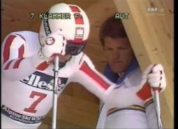 Embedded thumbnail for Harti Weirather: Downhill world championship run, 1984