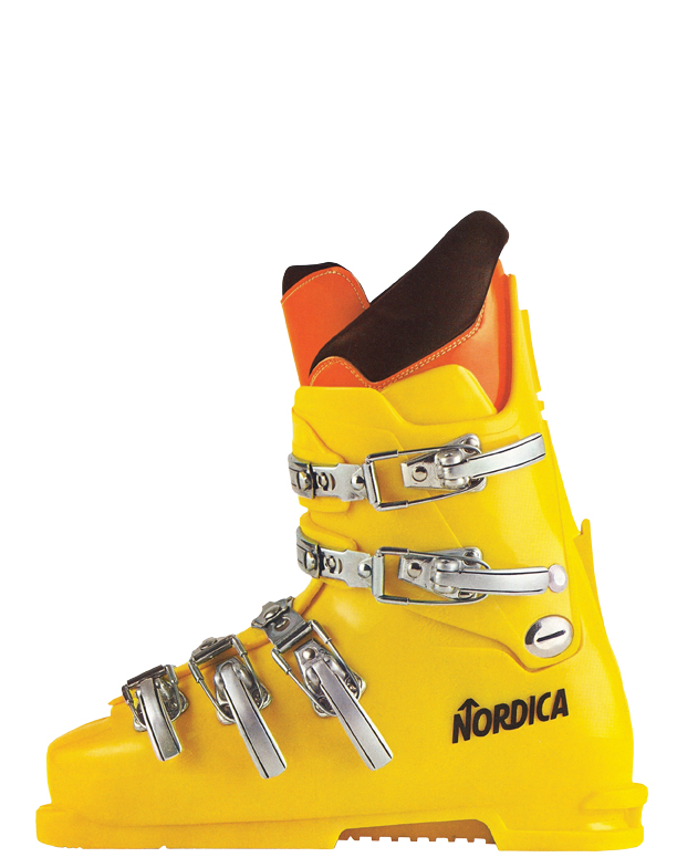 A Short, Colorful History of Ski Boots