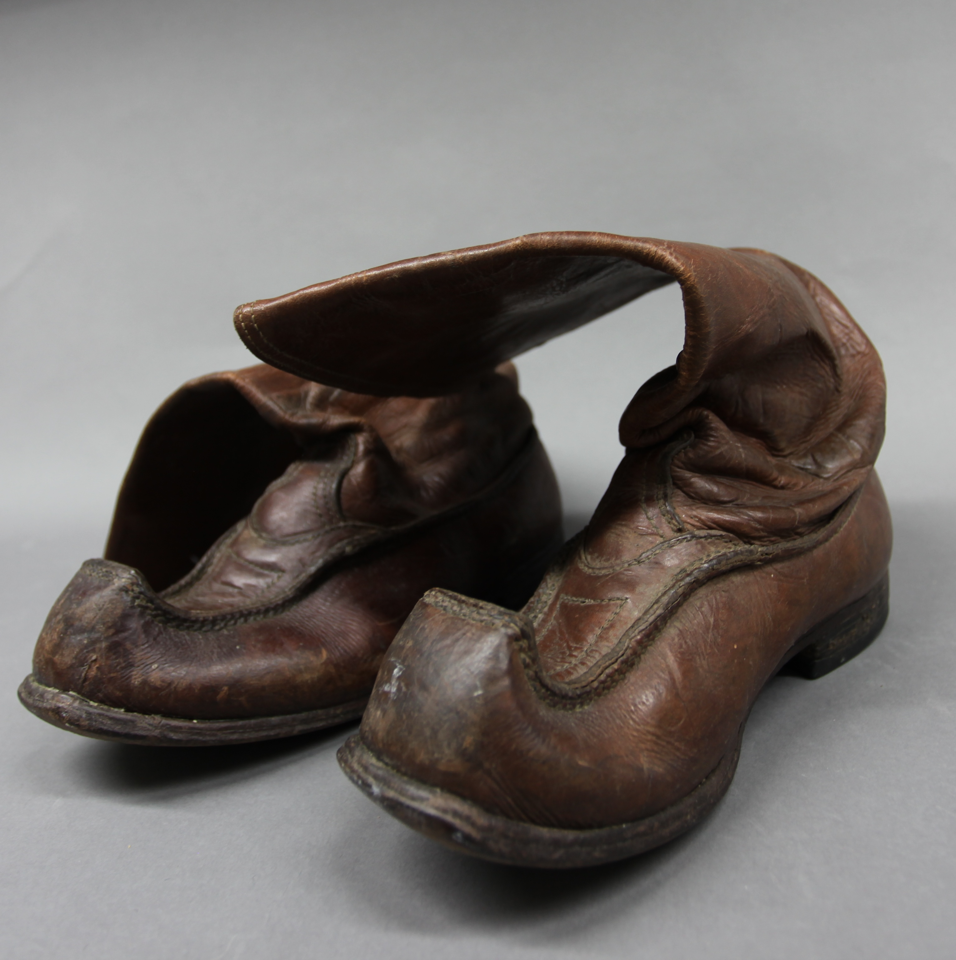 Saami boots, from the Scott Polar Museum, Cambridge